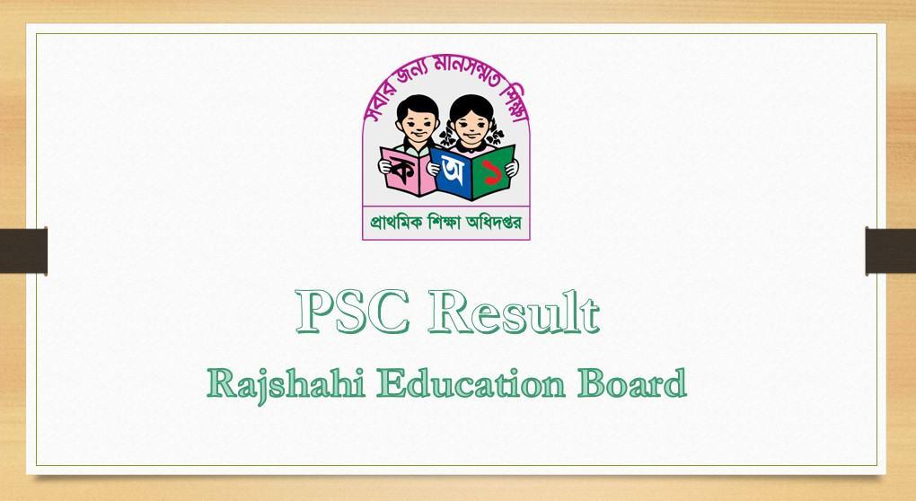 PSC Result Rajshahi Education Board