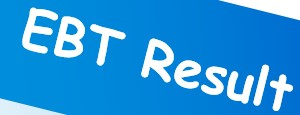 EBT Result