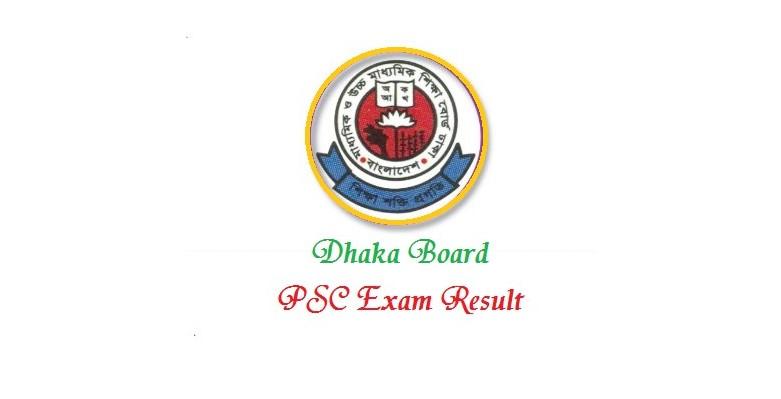 PSC Result Dhaka Board