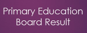 Primary Education Board Result