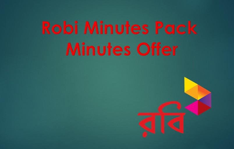 Robi Minute Pack