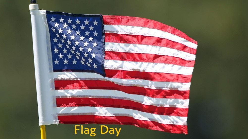 Flag Day - Flying Flag