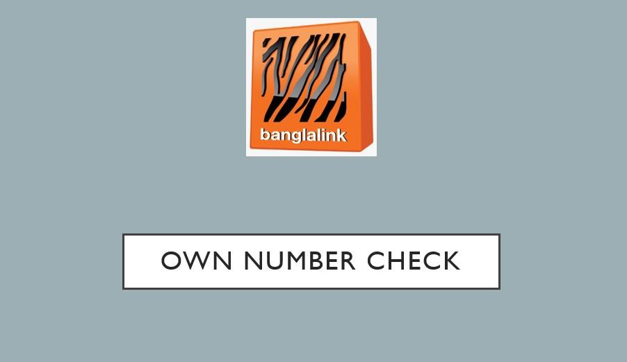 Banglalink Own Number