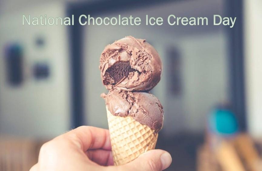 National Chocolate Ice Cream Day Image