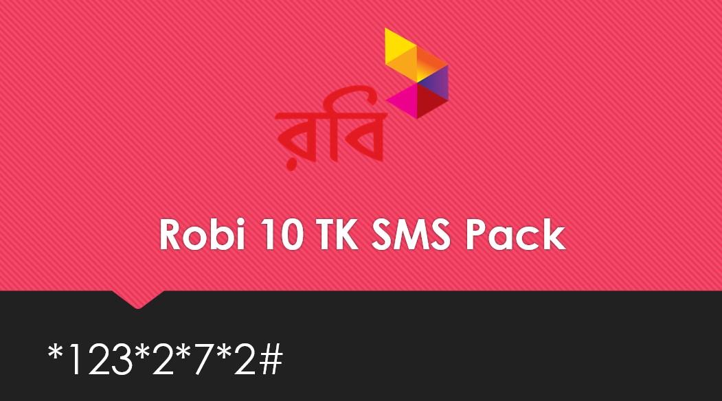 Robi 10 TK SMS Pack