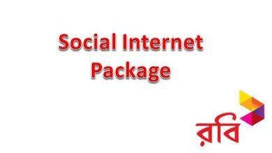 Robi Social Internet Pack