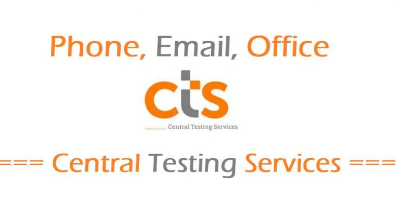 Central Testing Services Phone number, Email, Website, Office Address