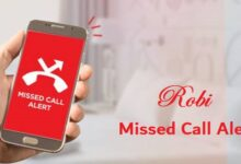 Robi Missed Call Alert