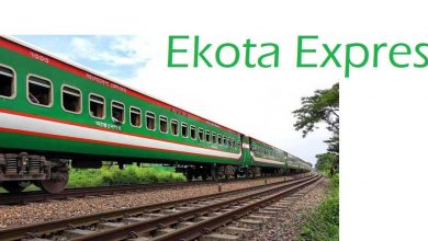 Ekota Express Train Schedule