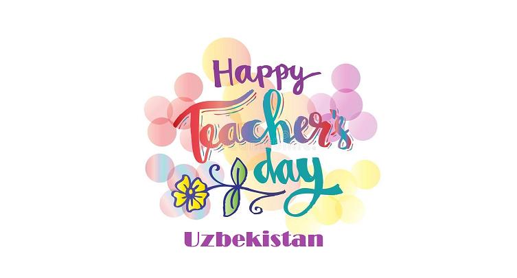 Happy Teachers Day Uzbekistan