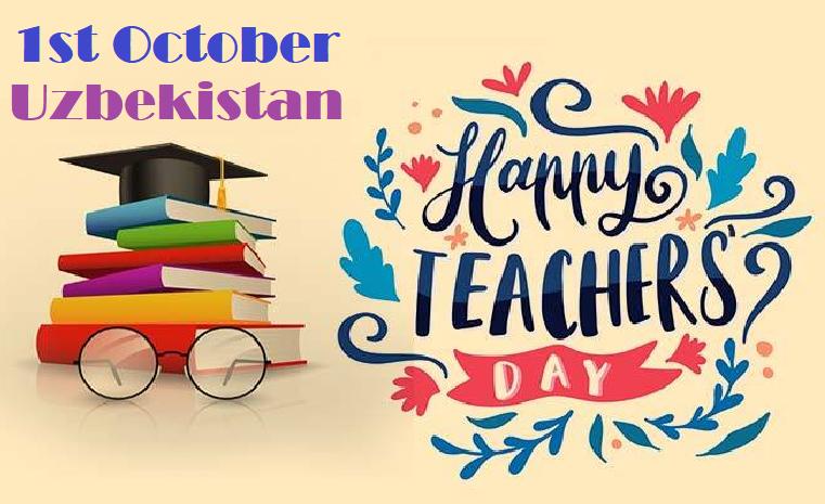Happy Teachers Day Uzbekistan Image