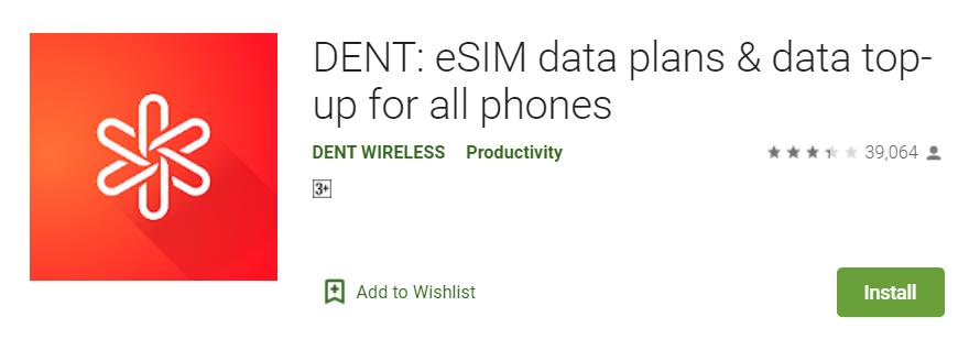 Dent App Install
