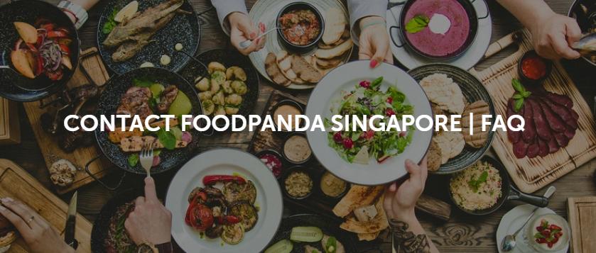 Foodpanda Singapore Customer Service with FAQ