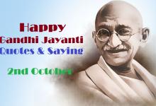 Happy Gandhi Jayanti Quotes