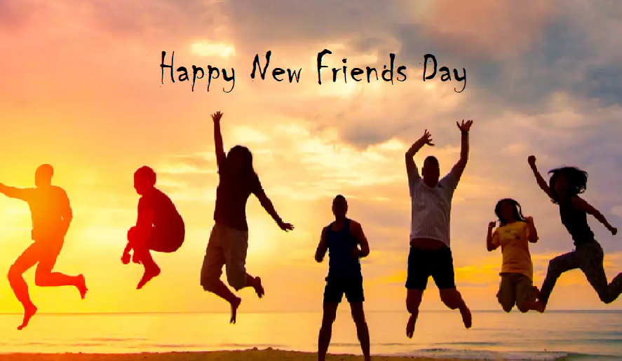 Happy New Friends Day Image