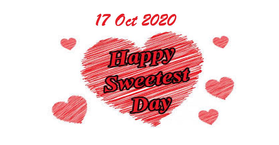 Happy Sweetest Day 2020