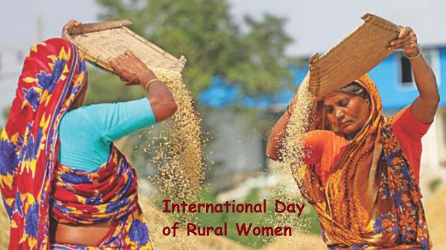 International Day of Rural Women Image