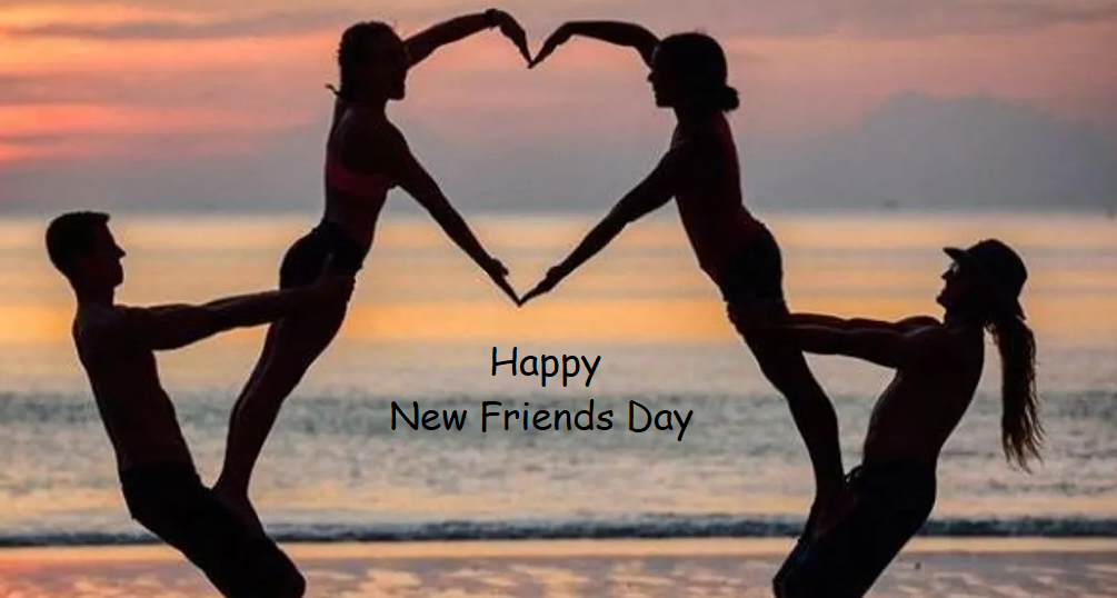 National New Friends Day Images