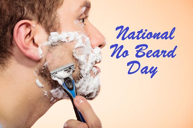 National No Beard Day Image