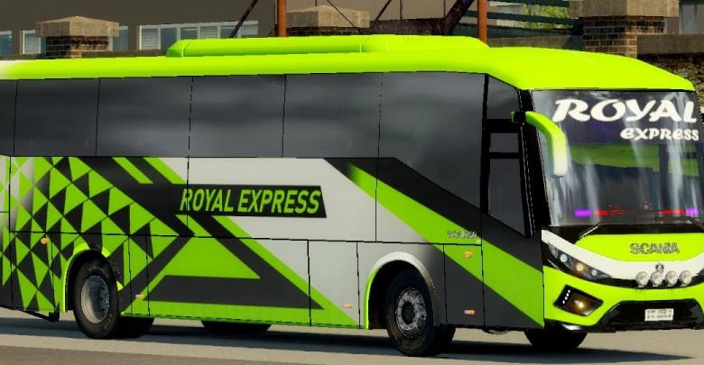 Royal Express (Royal Paribahan) Bus Bangladesh