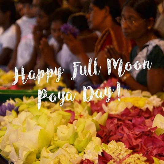 We wish you a happy Full Moon Poya Day
