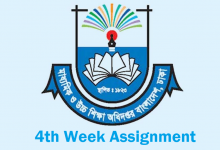 4th Week Assignment