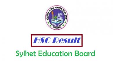 HSC Result Sylhet Education Board