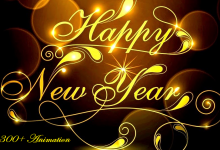 Happy New Year GIF Animation Free Download