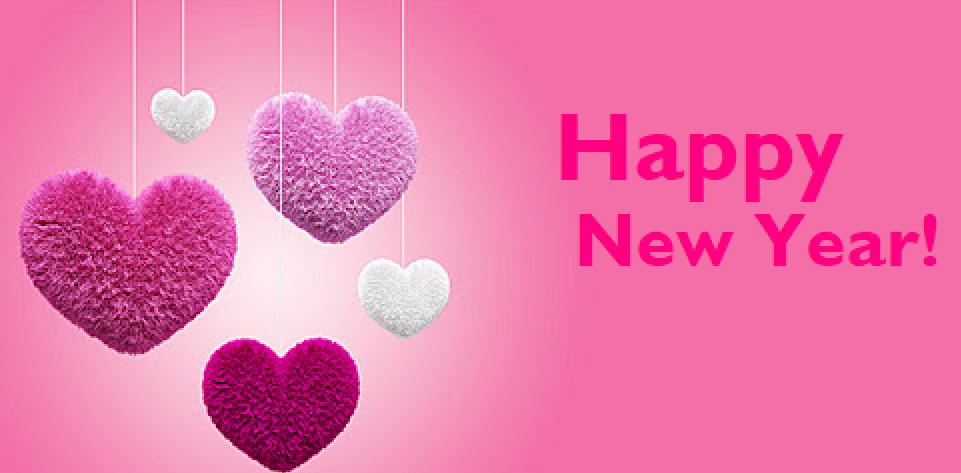 Happy New Year Wishes GF, Wife