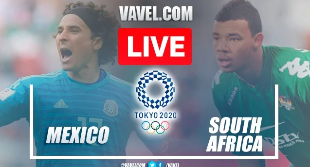 South Africa vs Mexico Live   Olympic Men Football 2021