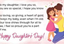 National Daughters Day Status