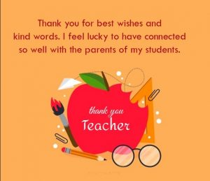 Wishes for Teachers from students 2021
